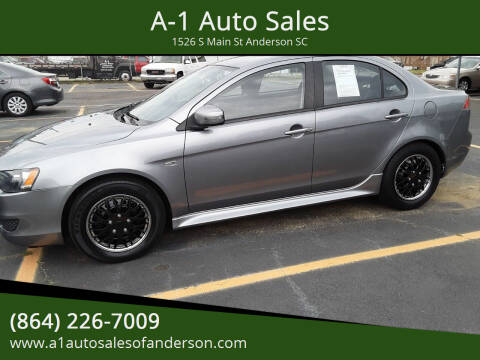2015 Mitsubishi Lancer for sale at A-1 Auto Sales in Anderson SC