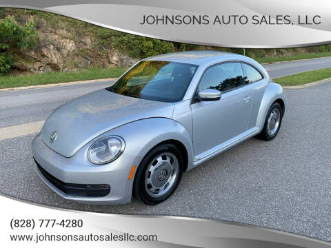 2012 Volkswagen Beetle for sale at Johnsons Auto Sales, LLC in Marshall NC
