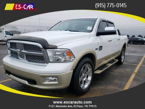 2012 RAM Ram Pickup 1500 for sale at Escar Auto in El Paso TX