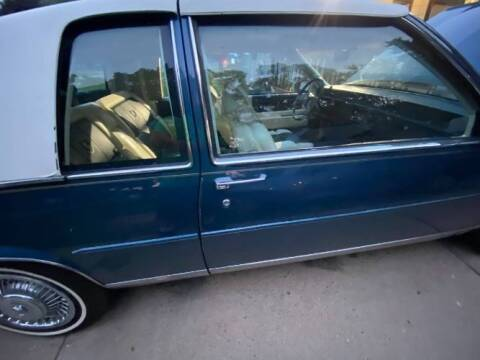1989 Cadillac DeVille for sale at Classic Car Deals in Cadillac MI