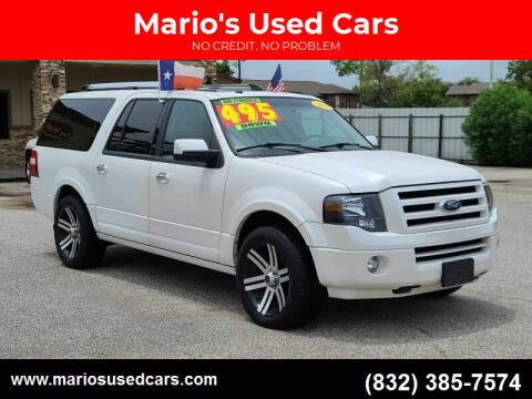 2010 Ford Expedition EL for sale at Mario's Used Cars - South Houston Location in South Houston TX