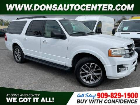 2016 Ford Expedition EL for sale at Dons Auto Center in Fontana CA