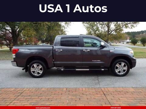 2011 Toyota Tundra for sale at USA 1 Autos in Smithfield VA