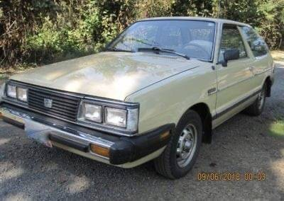 1982 Subaru GL for sale at Classic Car Deals in Cadillac MI