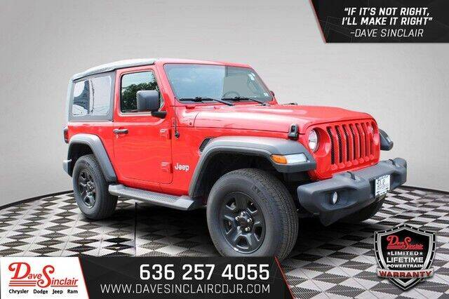 2020 Jeep Wrangler for sale at Dave Sinclair Chrysler Dodge Jeep Ram in Pacific MO
