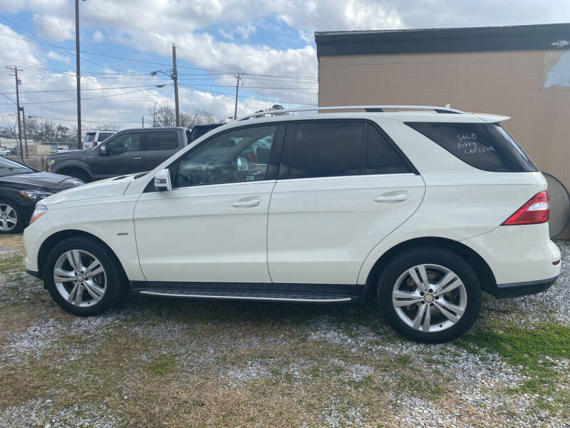 2012 Mercedes-Benz M-Class for sale at Bobby Lafleur Auto Sales in Lake Charles LA
