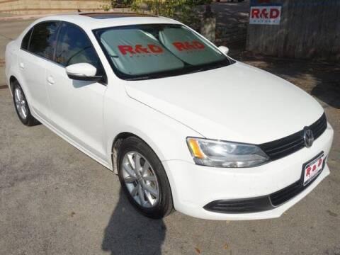 2013 Volkswagen Jetta for sale at R & D Motors in Austin TX