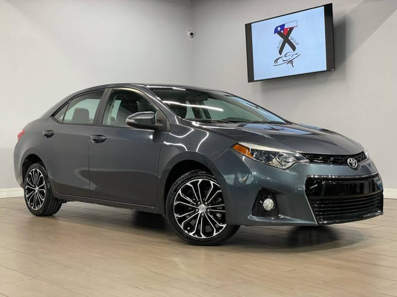 2015 Toyota Corolla for sale at TX Auto Group in Houston TX