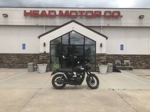 2019 Triumph Bonneville T100 Base for sale at Head Motor Company - Head Indian Motorcycle in Columbia MO