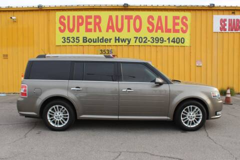 2014 Ford Flex for sale at Super Auto Sales in Las Vegas NV