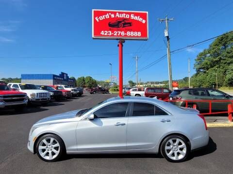 2013 Cadillac ATS for sale at Ford's Auto Sales in Kingsport TN