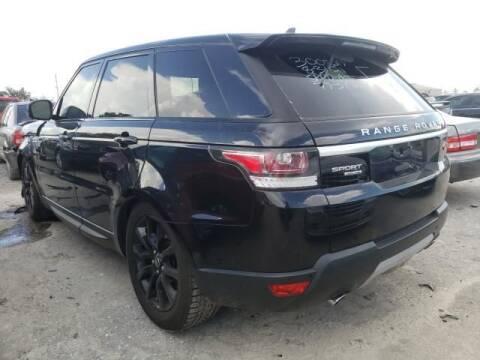 2016 Land Rover Range Rover Sport for sale at AE Of Miami in Miami FL