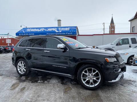 2014 Jeep Grand Cherokee for sale at Gonzalez Auto Sales in Joliet IL