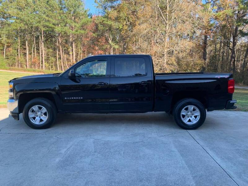 2017 Chevrolet Silverado 1500 for sale at Daniel Used Auto Sales in Dallas GA