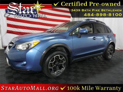 2014 Subaru XV Crosstrek for sale at STAR AUTO MALL 512 in Bethlehem PA