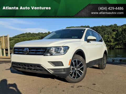 2021 Volkswagen Tiguan for sale at Atlanta Auto Ventures in Roswell GA