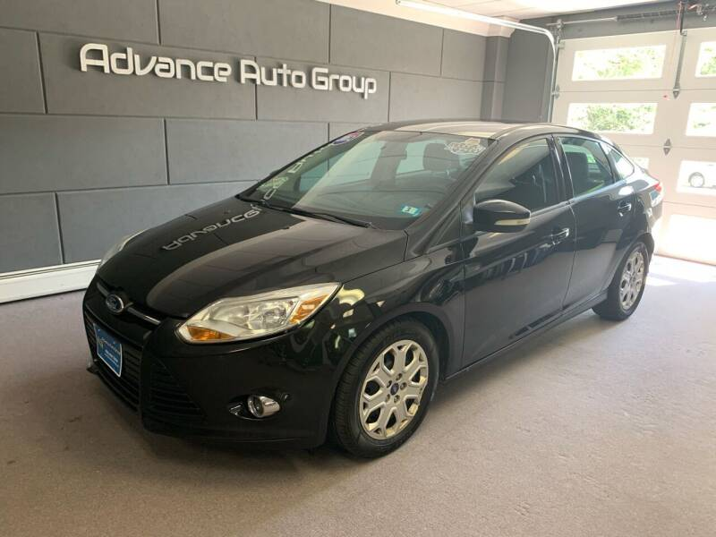 2012 Ford Focus for sale at Advance Auto Group, LLC in Chichester NH