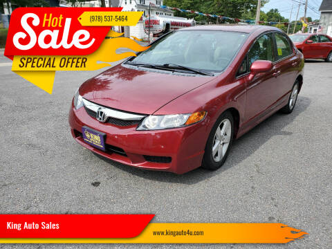 2009 Honda Civic for sale at King Auto Sales in Leominster MA