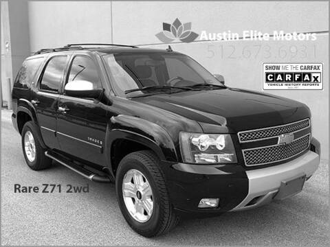 2008 Chevrolet Tahoe for sale at Austin Elite Motors in Austin TX