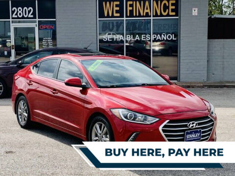 2017 Hyundai Elantra for sale at Stanley Direct Auto in Mesquite TX