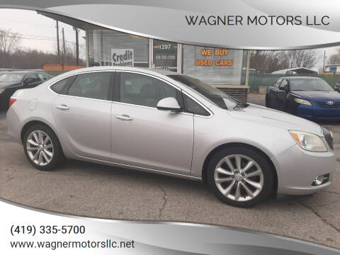 2012 Buick Verano for sale at Wagner Motors LLC in Wauseon OH