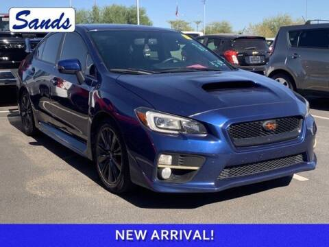 2015 Subaru WRX for sale at Sands Chevrolet in Surprise AZ