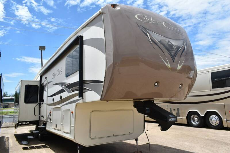 2016 Forest River Cedar Creek 36CKTS for sale at Buy Here Pay Here RV in Burleson TX