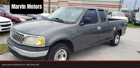 2003 Ford F-150 for sale at Marvin Motors in Kissimmee FL