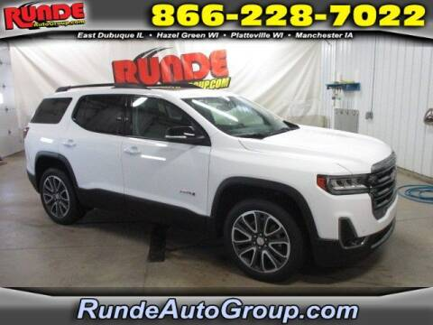 2020 GMC Acadia for sale at Runde Chevrolet in East Dubuque IL