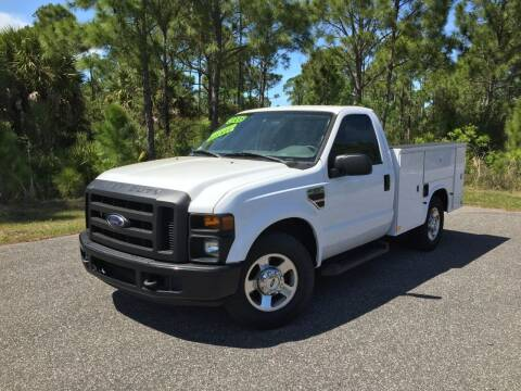 2008 Ford F-350 Super Duty for sale at VICTORY LANE AUTO SALES in Port Richey FL