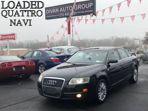 2007 Audi A6 for sale at Divan Auto Group in Feasterville PA