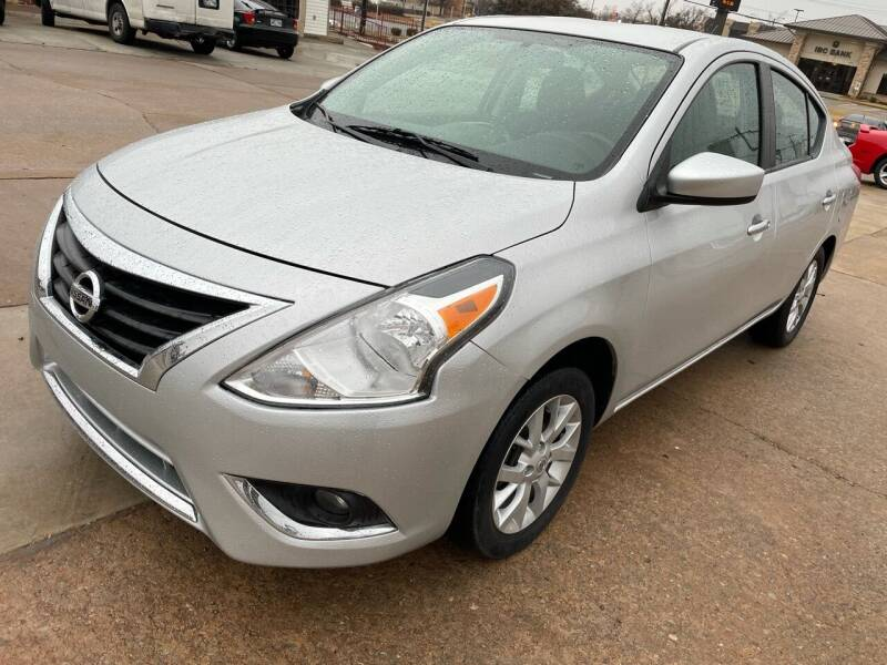 2018 Nissan Versa for sale at Automay Car Sales in Oklahoma City OK