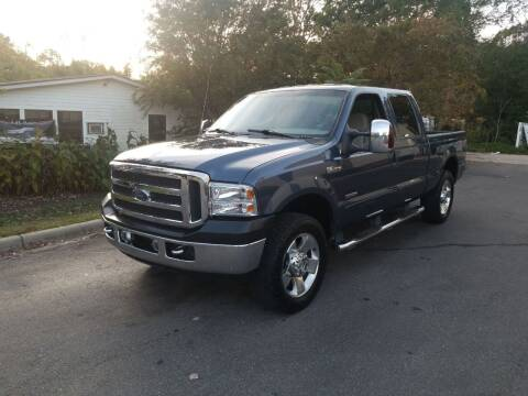 2007 Ford F-250 Super Duty for sale at TR MOTORS in Gastonia NC