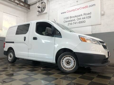 2016 Chevrolet City Express Cargo for sale at County Car Credit in Cleveland OH