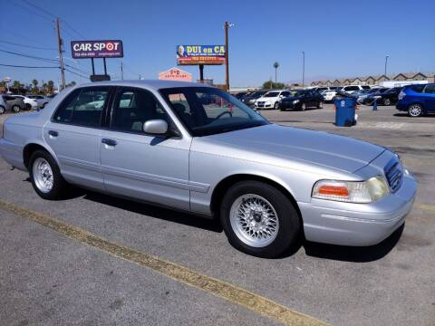 2001 Ford Crown Victoria for sale at Car Spot in Las Vegas NV