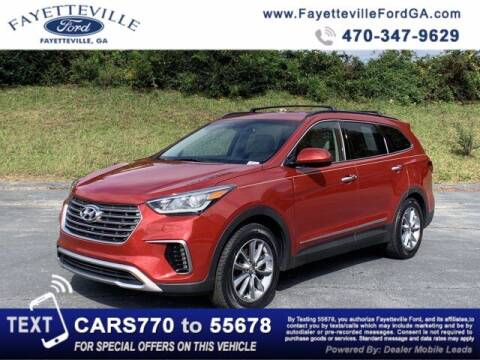 2018 Hyundai Santa Fe for sale at FAYETTEVILLEFORDFLEETSALES.COM in Fayetteville GA