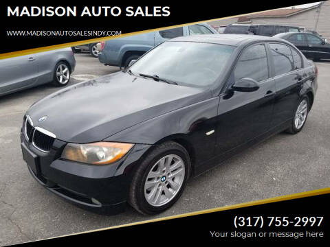 2007 BMW 3 Series for sale at MADISON AUTO SALES in Indianapolis IN