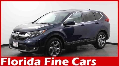 2019 Honda CR-V for sale at Florida Fine Cars - West Palm Beach in West Palm Beach FL