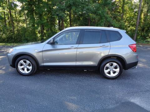 2011 BMW X3 for sale at BALKCUM AUTO INC in Wilmington NC