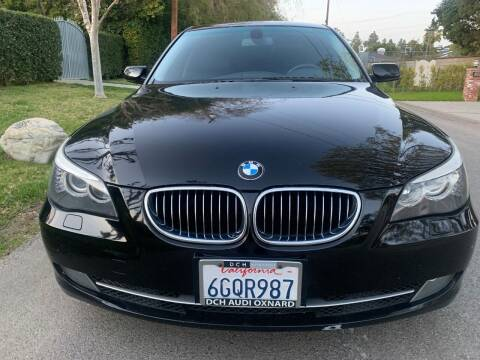 2009 BMW 5 Series for sale at Car Lanes LA in Valley Village CA