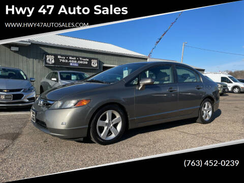 2008 Honda Civic for sale at Hwy 47 Auto Sales in Saint Francis MN