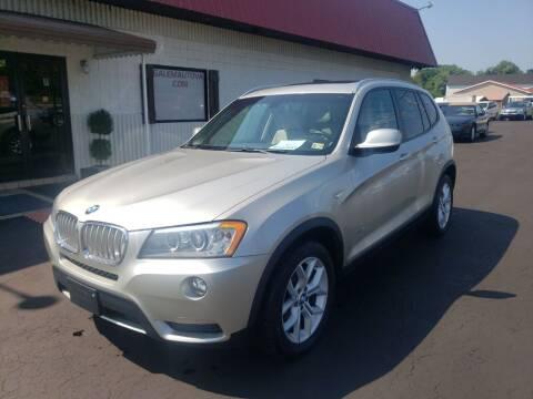 2013 BMW X3 for sale at Salem Auto Sales in Salem VA