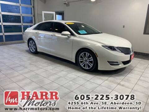 2013 Lincoln MKZ for sale at Harr Motors Bargain Center in Aberdeen SD