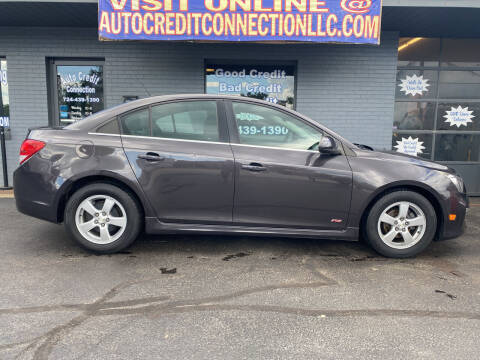 2015 Chevrolet Cruze for sale at Auto Credit Connection LLC in Uniontown PA