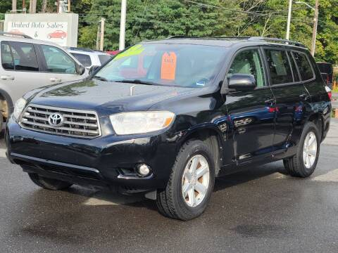 2010 Toyota Highlander for sale at United Auto Service in Leominster MA