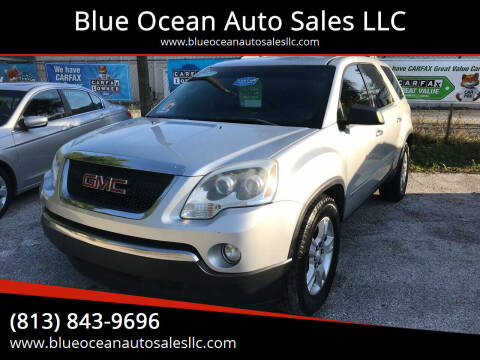2010 GMC Acadia for sale at Blue Ocean Auto Sales LLC in Tampa FL
