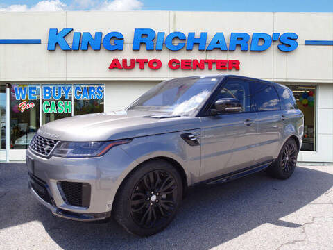 2018 Land Rover Range Rover Sport for sale at KING RICHARDS AUTO CENTER in East Providence RI