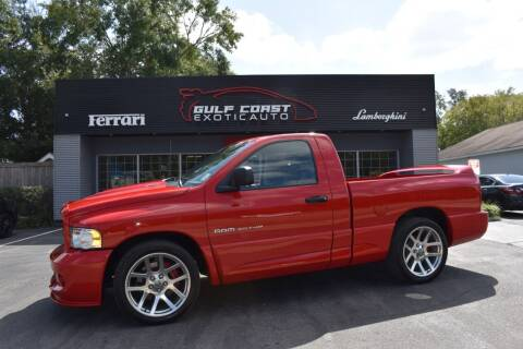 2004 Dodge Ram Pickup 1500 SRT-10 for sale at Gulf Coast Exotic Auto in Biloxi MS