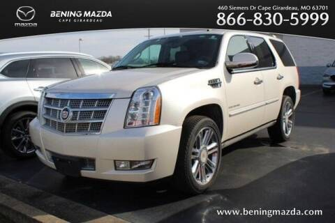 2013 Cadillac Escalade for sale at Bening Mazda in Cape Girardeau MO