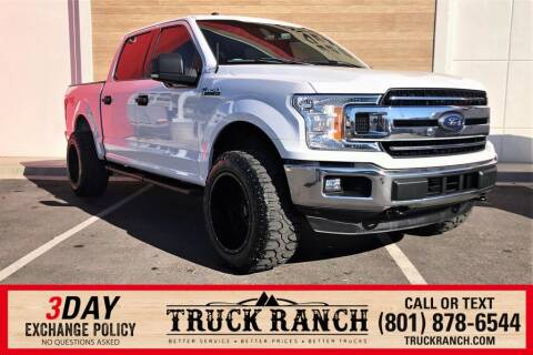 2018 Ford F-150 for sale at Truck Ranch in American Fork UT